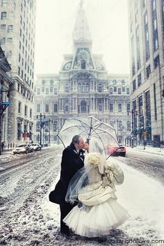 Winter weddings are a rare beautiful thing