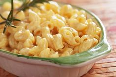 Bowl of Microwave Mac and Cheese