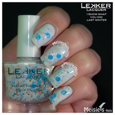 Lekker Lacquer - Holiday/Winter 2013 Collection - I Snow What You Did Last Winter