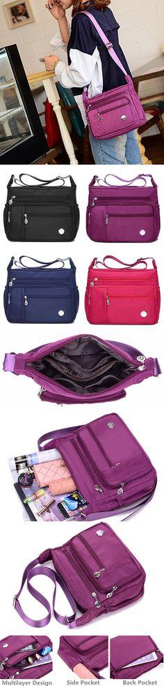 Women Waterproof Light Shoulder Bags Outdoor Sports Crossbody Bags Shoulder  Bags c15d7b0962