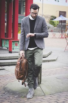 Nordstrom Men's Blog // 3 Ways to Wear Jogger Pants