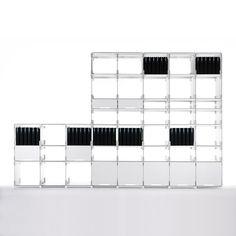 Kaether & Weise - Plattenbau Steckregalsystem Anwendungsbeispiel