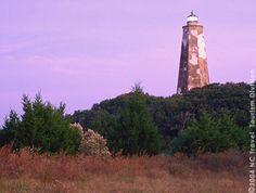 Bald Head Lighthouse, N.C.  Oldest standing lighthouse.