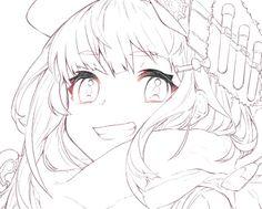 イラスト制作の最前線!人気イラストレーターMika Pikazoさんが魅力的な女の子の塗り方を披露。人物イラストの基本となる肌・髪・目の塗り方について解説します! 全国の書店にて絶賛発売中『表現したい世界を描く! CLIP STUDIO PAINT PRO イラストレーションテクニック』から特別掲載! Digital Painting Tutorials, Digital Art Tutorial, Anime Drawings Sketches, Anime Sketch, Lineart Anime, Manga Art, Anime Art, Wie Zeichnet Man Manga, Manga Drawing Tutorials
