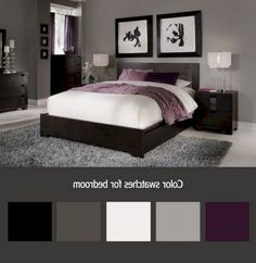 35+ Stunning Black Bedroom Color Schemes Ideas #bedroomdecor #bedroomdesign #bedroomdecoratingideas