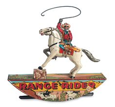 Range Rider by Marx--have sold this you numerous time,popular as western theme Y