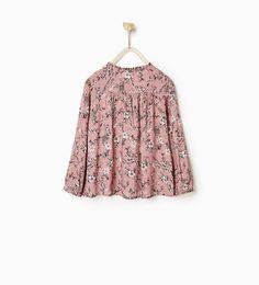 ZARA - KIDS - Floral shirt