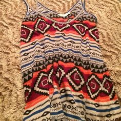 Cute tank top nwot Nwot. From Nordstrom. Super cute. True to size. Lush Tops Tank Tops