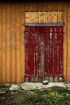 Barn door, Near Urnäsch, Switzerland