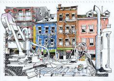 Urban Sketchers Buenos Aires.