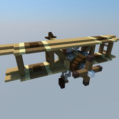 1920s Biplane - WWI Minecraft Project