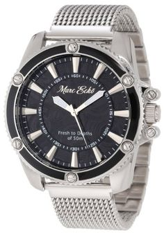 Men's Wrist Watches - Marc Ecko Mens M18597G3 The Flash Three Hand Watch *** Check out the image by visiting the link.