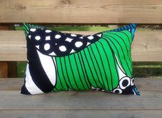 14 x 20 Pillow cover made from Marimekko fabric, cushion cover, throw pillow cover, pillow sham, modern Scandinavian rectangular pillow