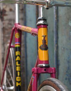 Vintage bike colours
