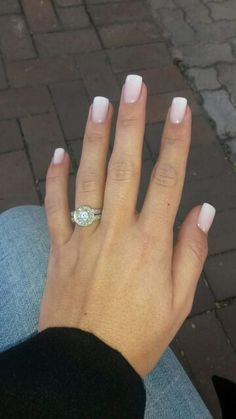 Milky French Manicure