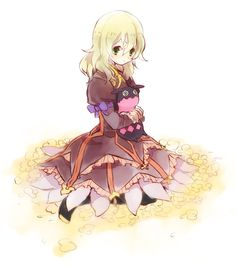 Elise and Teepo Tales of Xillia