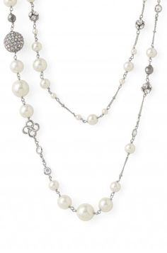 Stella and Dot Madeline Pearl Necklace, New for the Holidays!   Great item to have in the jewelry box, dress it up or down depending on the event!