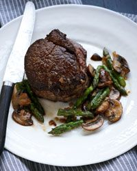 Medallions of Beef with Mushrooms - Father's Day from Food & Wine