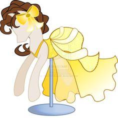 Rarity design's Belle's pony dress My Little Pony Dress, Mlp My Little Pony, My Little Pony Friendship, Dessin My Little Pony, Manga Mania, Mlp Rarity, Queen Chrysalis, Homemade Stickers, Mlp Fan Art