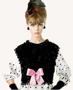 pinterest.com/fra411 Jean Shrimpton, 1960's