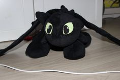 Toothless Plush - How to Train your Dragon by RattyShop on Etsy