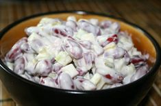 Kidney Bean Salad. Looks just like what they make at Hinkles!!! Yummo!
