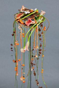 Moderno arreglo floral