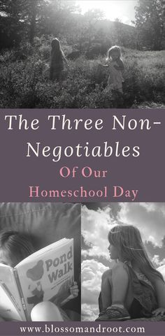 The three elements that make any day in our nature-based, Charlotte Mason inspired homeschool a successful one. via @Blossom and Root