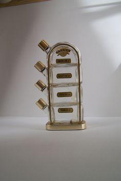 Flacon Quadrille pour les liqueurs de la maison Garnier vintage Made in France de la boutique MyFrenchIdeedAntique sur…