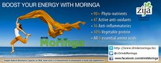 Boost your energy with Moringa! #Zija knows