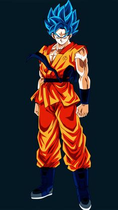 Goku Super Saiyan Blue, Dragon Ball Super Dragon Ball Z, Blue Dragon, Dbz, Goku Super, Son Goku, Anime Naruto, Cartoon Network, Super Saiyan, Drawings