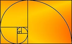 the golden ratio.  elegance, movement.  logo design.  see also: can't unsee.  it really is everywhere.
