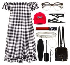 """""""❤️⛓❤️⛓"""" by korareay2 ❤ liked on Polyvore featuring Vans, Chloé, NARS Cosmetics, Cartier, Marc Jacobs and Kat Von D"""