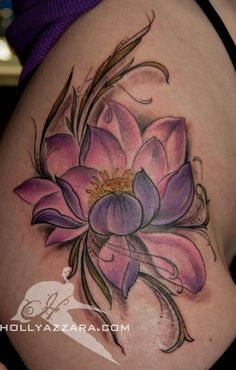 Colored Lotus by Holly Azzara, Watertown, MA