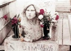 The History of Jim's Grave In Pere Lachaise | The Doors. John Densmore, Robby…