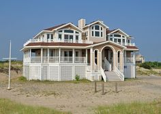 Army-Navy Annex OBX - T21918 is an Outer Banks Semi-Oceanfront vacation rental in North Swan Beach 4x4 NC that features 7 bedrooms and 6 Full 2 Half bathrooms. This rental has a private pool, an elevator, and a pool table among many other amenities. Click here for more.