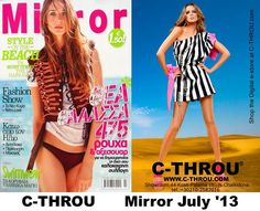 C-THROU @Mira Strohmaier Magazine July'13