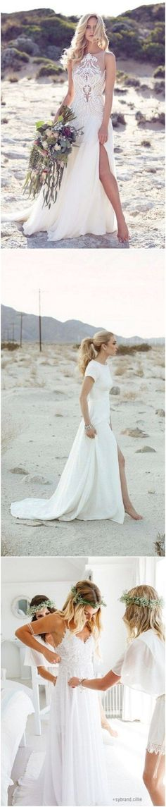 Beautiful Beach Wedding Dresses (89)