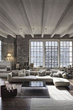 nice 51 Best Industrial Look with Large Windows #industrialdesign