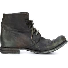 lace-up ankle boots - Green A Diciannoveventitre / Augusta Marketable Sale Online lVdoDB