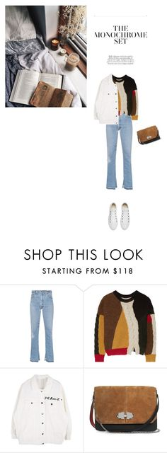 """""""Untitled #636"""" by duoduo800800 ❤ liked on Polyvore featuring RE/DONE, Étoile Isabel Marant, Carven and Converse"""