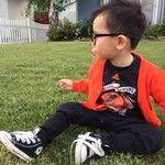 Cute boy style.  xoxo
