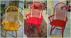 A Little Pop of Red: Homemade Chalk Paint~Lots of great tips and pics!