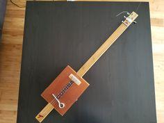 Cigar Box Guitar #1 (#QuickCrafter)