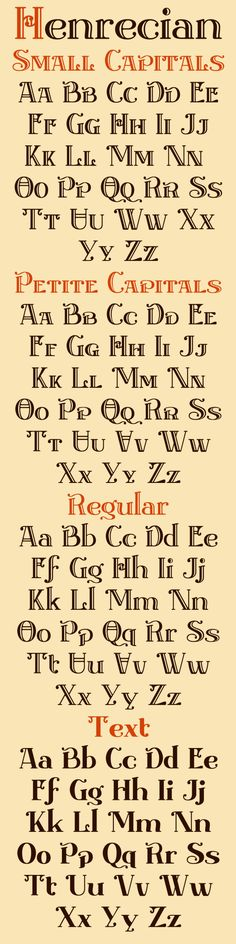 Henrecian typeface family... Currently under development at Greater Albion Typefounders.  Or we may yet call it 'Tudor Revival'    #font #typeface #tudor #typeography