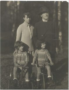 The Kerr family in 1927, six years before the family had to flee the rising Nazi party in Germany due to her writer father's liberal, anti-Hitler work. Kerr-Kneale Productions Ltd 2013
