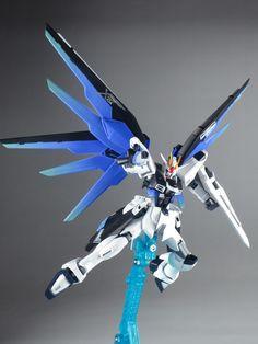 GUNDAM GUY: HG 1/144 Freedom Gundam (REVIVE) - Build Images