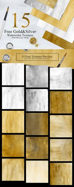 15-free-gold-silver-watercolor-texture
