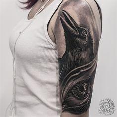 Sleeve in progress. #varlakovtattoo #tattoo #tattoos #realistictattoo #blackandgraytattoo #blackandgraytattoo