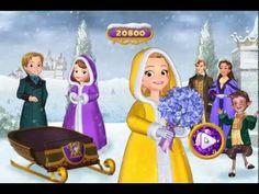 Disney Sofia The First - Princess Amber Wassailia Day Sled Race